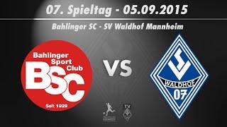 Bahlinger SC vs. SV Waldhof Mannheim 07 7. Spieltag 15/16