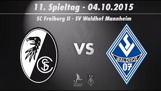 SC Freiburg II vs. SV Waldhof Mannheim 07 11. Spieltag 15/16