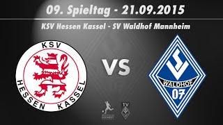 Hessen Kassel vs. SV Waldhof Mannheim 9. Spieltag