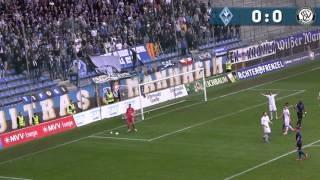 SV Waldhof Mannheim 07 vs SV Elversberg 16.Spieltag 15/16