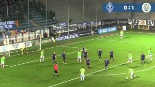 SV Waldhof Mannheim 07 vs FC 08 Homburg 18.Spieltag 15/16