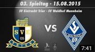 SV Waldhof Mannheim 07 vs. SpVgg Neckarelz 4. Spieltag 15/16