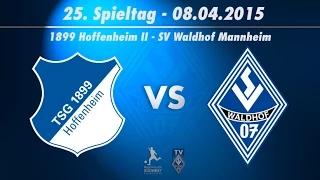 1899 Hoffenheim II vs. SV Waldhof Mannheim 07 25. Spieltag (Nachholspiel) 14/15
