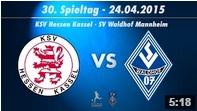 KSV Hessen Kassel vs. SV Waldhof Mannheim 07