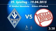 SV Waldhof Mannheim 07 vs. Kickers Offenbach