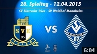 SV Eintracht Trier vs. SV Waldhof Mannheim 07