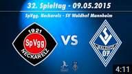 SpVgg Neckarelz vs. SV Waldhof Mannheim 07 32. Spieltag 14/15