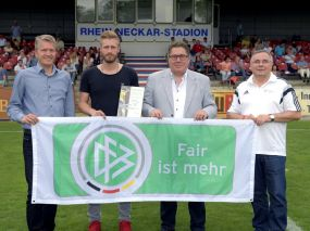 Fair ist mehr-Monatssieger Juni 2016 wurde Daniel Gulde (Fortuna Heddesheim)