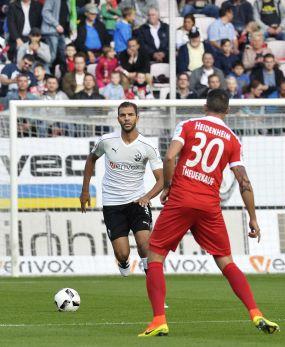 """Daniel Gordon: """"Jahrelang hat der SV Sandhausen nicht den Fußball gespielt, den wir derzeit zeigen."""""""