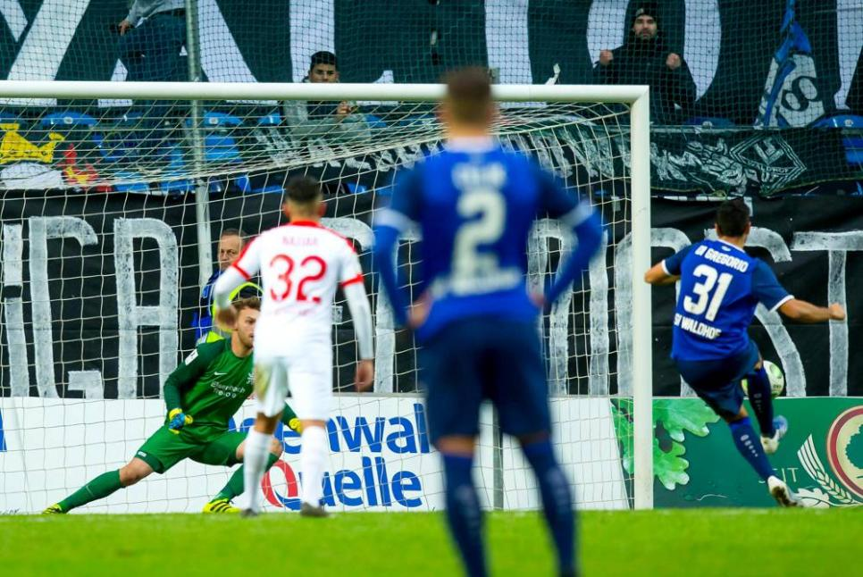 Der SV Waldhof bleibt die Mannschaft der Stunde in der Regionalliga Südwest ++ 1:0 Sieg über Hessen Kassel
