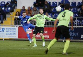 Walldorf zeigt Moral / 3:3 gegen Stuttgarter Kickers