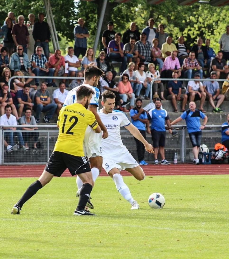 Cihad Ilhan schießt Fortuna Heddesheim in die 2. Pokalrunde ++ 1:0 (1:0) Derbysieg gegen den VfB Gartenstadt