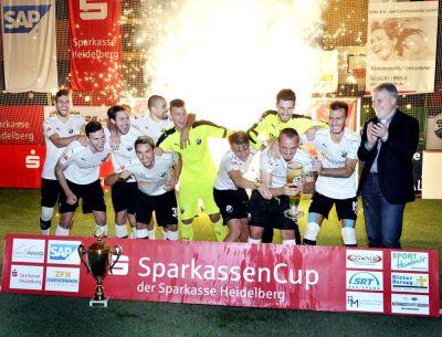 SV Sandhausen gewinnt Sparkassen-Cup Rhein-Neckar / FC Türkspor Mannheim wird Dritter