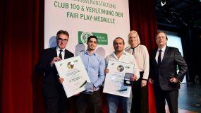 DFB-Fair Play-Medaille 2014/15 geht drei Mal nach Baden +++ Carlo Catalano (Bosna Mannheim) ausgezeichnet