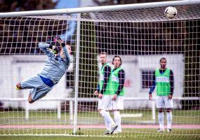 Heddesheim holt 1:1 (0:0) beim Topfavoriten TSG Weinheim +++ Traumtor von Hiller reicht nicht zum Weinheimer Sieg