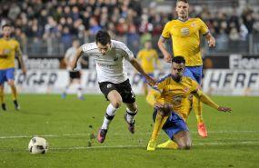 Das Tore schießen vergessen - Sandhausen musste sich Braunschweig trotz guter Vorstellung mit 0:1 geschlagen geben