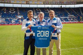 MVV Energie und TSG 1899 Hoffenheim vertiefen bewährte Partnerschaft