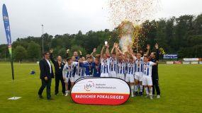 C-Junioren des Karlsruher SC holen Pokal
