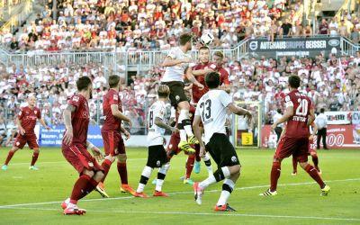 Sandhausen war Favorit Stuttgart ebenbürtig - aber am Ende stand eine 1:2 Niederlage