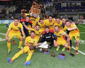 Der Karlsruher SC gewinnt Harder13-Cup 2017 +++ SV Waldhof wird Vierter