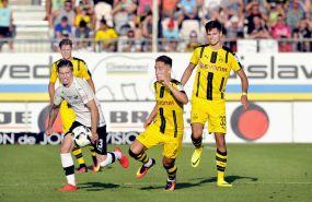 Sandhausen unterliegt dem BVB im Jubiläumsspiel