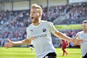 Sandhausen feiert Traumstart ins neue Jahr - 3:0-Sieg in Düsseldorf