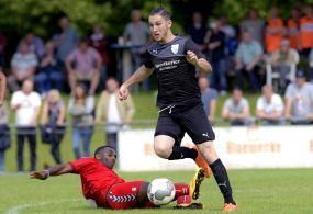 VfR Mannheim II gewinnt erstes Aufstiegs-Endspiel ++ U23 nach 2:0 in Seckenheim mit glänzender Ausgangsposition