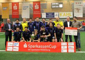 SV Waldhof gewinnt Sparkassen-Cup +++ Finalsieg über Wormatia Worms +++ Siegerscheck 4.000 Euro