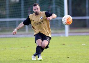 """Niels Gremm: """"Wenn ich nicht auf dem Fußballplatz stehe, bin ich eigentlich meistens im Fitness-Studio oder beim Laufen."""""""
