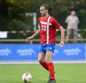 Luka Stanisic erzielt Tore am Fließband und erklimmt mit dem FK Srbija Mannheim die Tabellenspitze