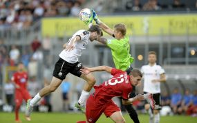Der SV Sandhausen und der 1. FC Heidenheim trennen sich 0:0