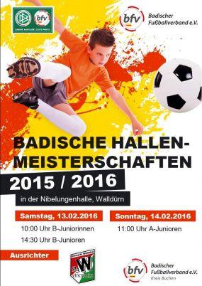 Badische Hallenmeisterschaften der älteren Jahrgänge in Walldürn