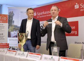 Zietsch sorgt für interessante Gruppen beim SparkassenCup 2017