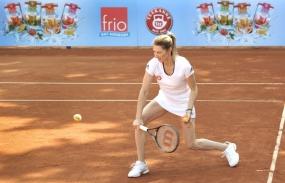 Prominente Tennisstunde in Ludwigshafen mit Steffi Graf