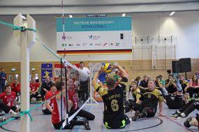 Deutsche Meisterschaft im Sitzvolleyball 2015 - Leipzig entschied Deutsche Meisterschaft im Tie-Break