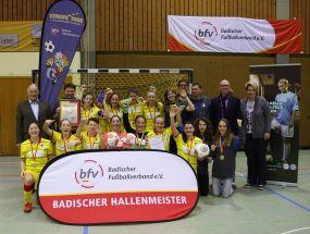 Badische Jugendhallenmeisterschaften: B-Juniorinnen der TSG 1899 Hoffenheim triumphieren