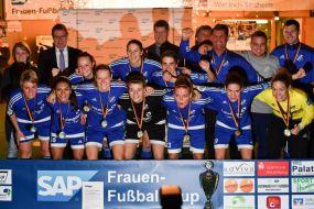 Metropolregion FußballCup der Frauen ++ SC Sand entthront Hoffenheim in der Verlängerung