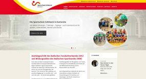 Sportschule Schöneck mit neuer Internetpräsenz