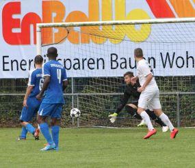 Spvgg 06 Ketsch stand gegen den ASV/DJK Eppelheim am Rande einer Niederlage