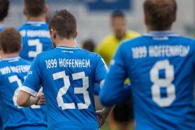 Walldorfer 1:2-Niederlage gegen die U23 der TSG 1899 Hoffenheim im Benefizspiel
