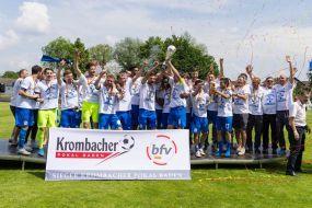 FC-Astoria Walldorf gewinnt Krombacher Pokal Baden - gelungener Finaltag der Amateure