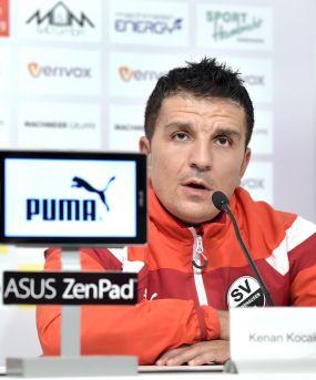 Der sport-kurier im Interview mit SVS-Coach Kenan Kocak