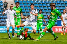 """SV Waldhof unterliegt Borussia Mönchengladbach 2:3 (1:2) +++ Dais: """"Das war eine ansprechende Leistung."""""""