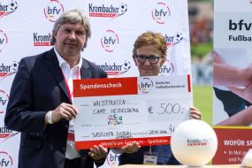 bfv spendete aus Sozialfonds