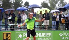 Grün-Weiß Mannheim wird noch Dritter in der Tennis-Bundesliga +++ 5:1 über Gladbach