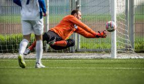 Heddesheims Keeper Daniel Tsiflidis gehört zu den Besten seines Fach