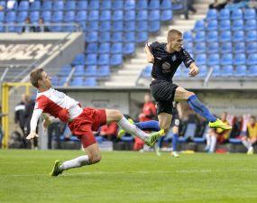 Marcel Sökler - das Comeback! +++ Sturmtank der Blauschwarzen nach seinem Kreuzbandriss im Pokal aufgelaufen