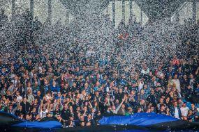 Public Viewing zum Aufstiegshinspiel SF Lotte - SV Waldhof Mannheim