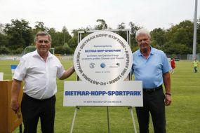 Der FCA spielt ab jetzt im Dietmar-Hopp-Sportpark