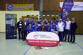 B-Junioren des FC Astoria Walldorf holen sich den Titel des Badischen Meisters